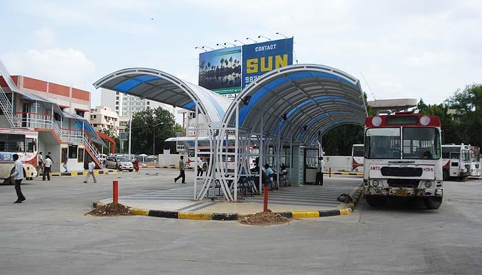 AMTS Vadaj Bus Terminal, Ahmedabad (1)