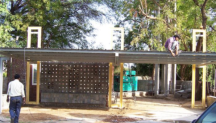Residence Parking, Amali, Ahmedabad (2)